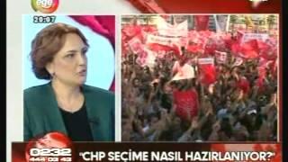 CHP PM Üyesi Elfin Tataroğlu EGE TV Ana Haber 17 10 2014