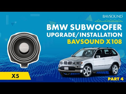 2006 Bmw X5 Radio Wiring Diagram 2005 Jeep Liberty Ignition Switch Subwoofer System (x108) By Bsw - Install Guide 4 Of 7 Youtube
