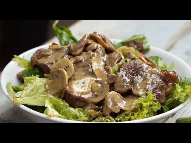 Ilık bonfile Roka Salatası Tarifi, Nasıl Yapılır?