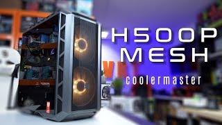Dobra wentylacja i ciekawy design - CoolerMaster H500P Mesh - test obudowy