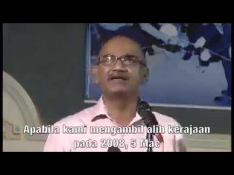 [Video] Pengakuan bekas ahli DAP - Menjadikan Malaysia negara Kristian