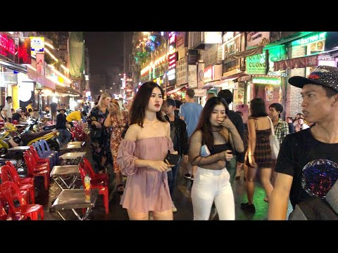 Saigon, Vietnam 2019- A Day In Bui Vien Walking Street- Vlog23