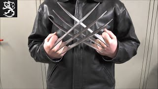 how to make Wolverine Claws / Как сделать Когти Росомахи