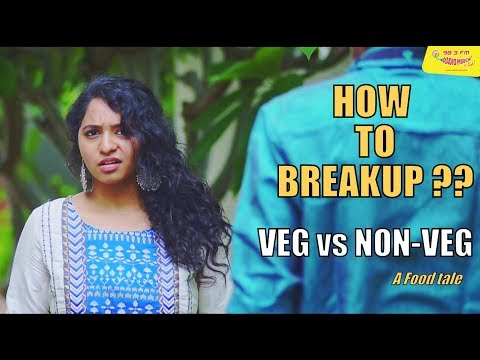 Being Saru - VEG vs NON-VEG - How to break up ?