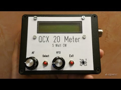 QCX 20 Meter Qrp 5 Watt CW