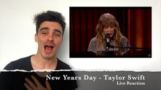 Taylor Swift - New Years Day Live Performance (Reaction)