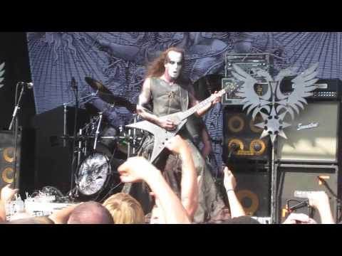 BEHEMOTH • Ov Fire and the Void • Rockstar Mayhem Fest 2009 • Dallas, Texas • PIT POV HD