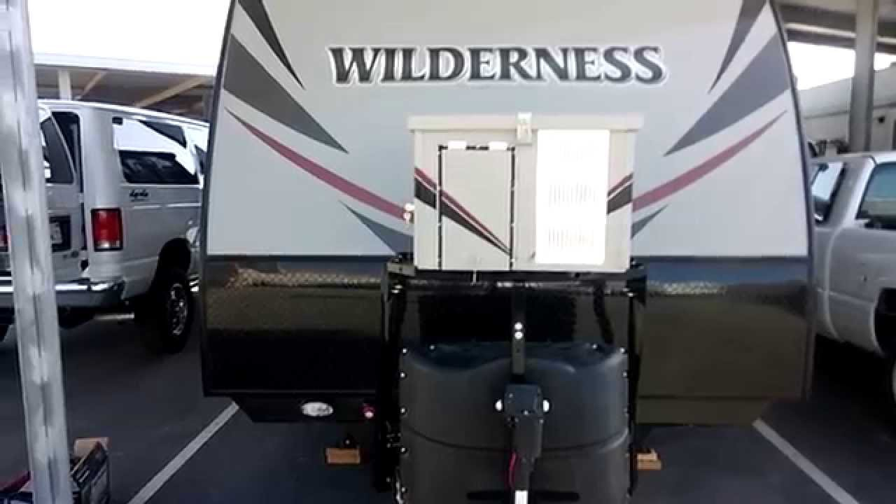 132015 Heartland Wilderness 2750RLCargo tray generator