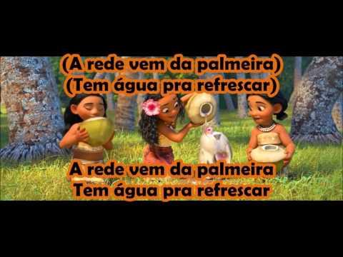 Moana / Vaiana - Where You Are (Brazilian Portuguese) *Lyrics* HD