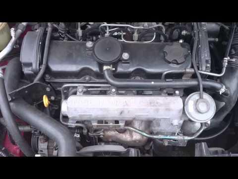 Nissan Primera 2.0TD CD20T - Wahania obrotów