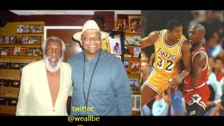 Baba Dick Gregory: Magic Johnson Never Had HIV/AIDS & Michael Jordan Is Broke!!! 1/26/2014