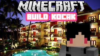 Minecraft Indonesia - Build Kocak (27) - Hotel!