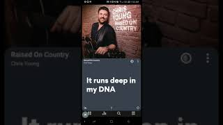 Chris Young - Raised On Country (Official Lyric Video) Video