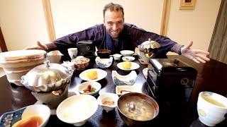 Traditional JAPANESE Breakfast at Arai Ryokan + Japanese ONSEN TOWN Tour | Shuzenji, Japan