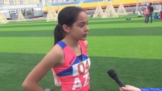 Чемпионка Игр «Дети Азии» Фахрия Тагизаде