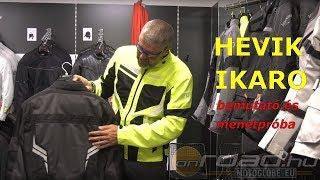 Hevik Ikaro vízálló-szellőző motoros kabát bemutató - Onroad.hu