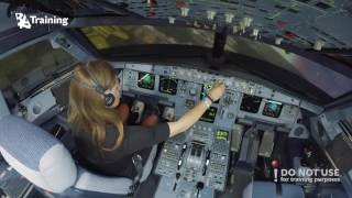 Inexperienced girl trying to land A320 thumbnail