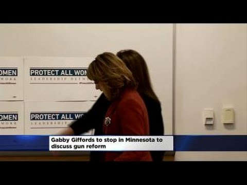 Gabby Giffords Taking Tour On Domestic Violence To Minn.