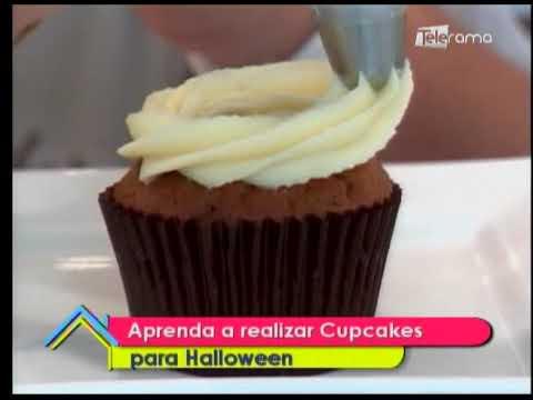 Aprenda a realizar cupcakes para Halloween