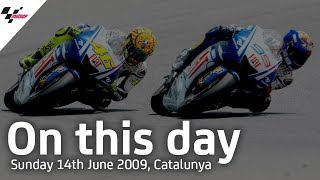 On This Day: Rossi vs Lorenzo