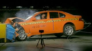BMW 7 Series (E65) - Crash Tests
