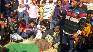 Sleight Of Hand Or Street Magic Show In India Showing In Pushkar Fair
