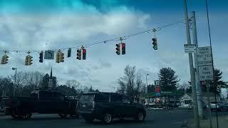 Driving from Wilbraham Massachusetts to Downtown Springfield Massachusetts