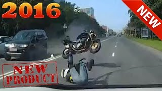 Мото аварии 2016 мото приколы  NEW motorcycle crash coolest moto fail and win compilation #3