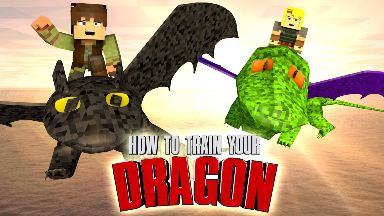 Minecraft  How To Train Your Dragon Challenge  Toothless Is Captured! ( Dragons)  Youtube