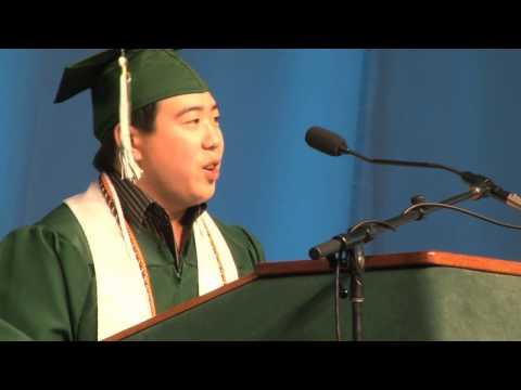 "Binghamton University Commencement Spring  -  Daniel Wong ""Take Ownership of Your Goals"""