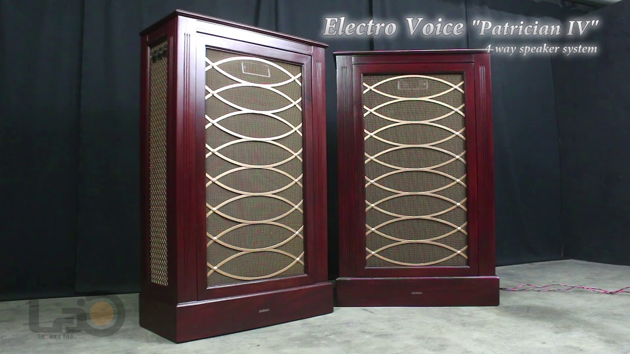 "Electro Voice ""Patrician IV"" - 4way Speaker System - 2 ..."