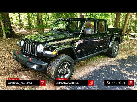 2020 Jeep Gladiator 6MT – Better With The Manual? - YouTube