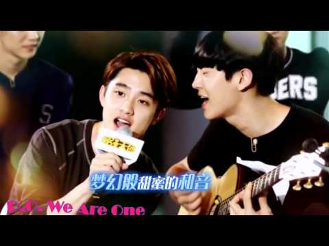 140905 EXO D.O. & Chanyeol Singing Billionaire