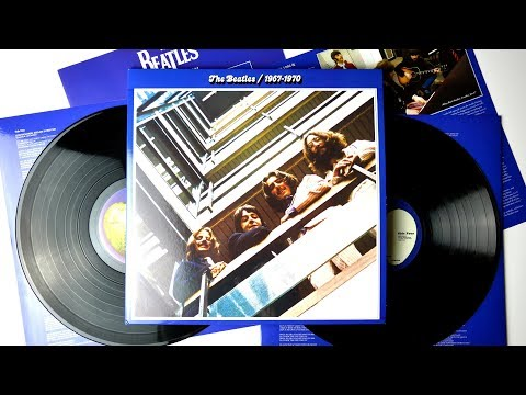 The Beatles ‎/ 1967-1970 (The Blue Album) - The Beatles Vinyl Collection Unboxing