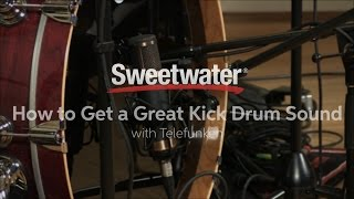 How to Get a Great Kick Drum Sound with Telefunken Microphones