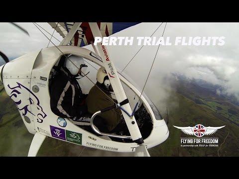 PERTH TRIAL FLIGHTS