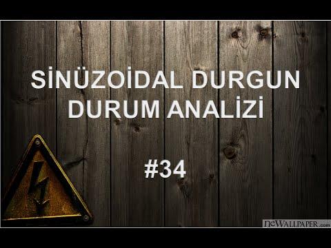 Sinüzoidal Durgun Durum Analizi - #34