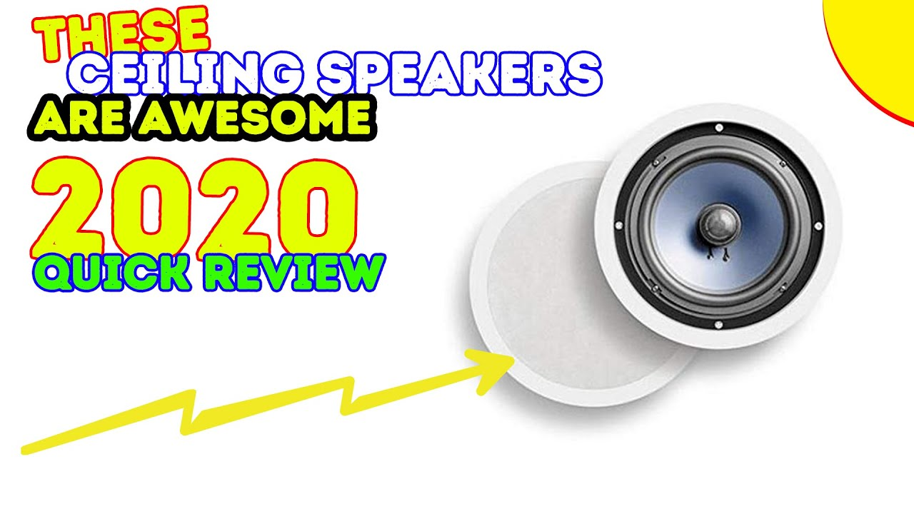 best ceiling speakers 2017 - youtube