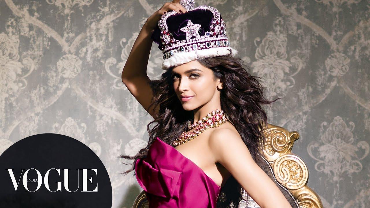 Deepika Padukone in the Sept.'13 Big Fashion Issue ... Freida Pinto