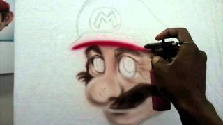 super mario in real life full process fps style