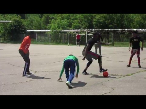 Kuban State Technological University, Krasnodar Russia 4 ( Nigeria Vs Angola) Football Match