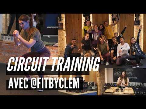 CIRCUIT TRAINING AVEC FIT BY CLEM : circuit full body et cardio HIIT en équipes