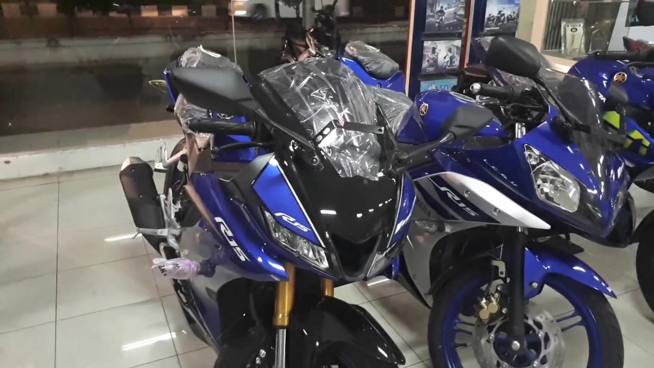 Yamaha R15 2018 Racing Blue Youtube