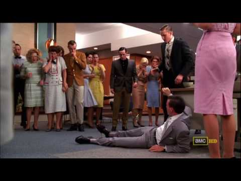 """MAD MEN - """"I can't believe I'm going to miss this!"""" AKA Lois and the Lawnmower 3.06 mejores momentos de mad men"""