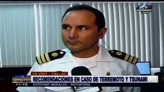 ATV+: Marina de Guerra explica importancia de cartas de inundación.