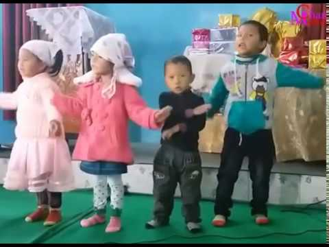 Elshaddai Sunday school Action Song by Small children