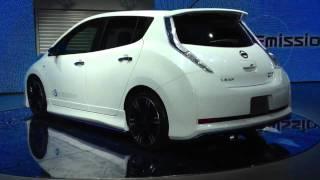 Nissan LEAF NISMO Concept 2012 Videos