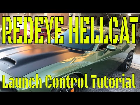 Redeye Hellcat Launch Control 2.0  Mopar Launch Control Explained And Demostrated