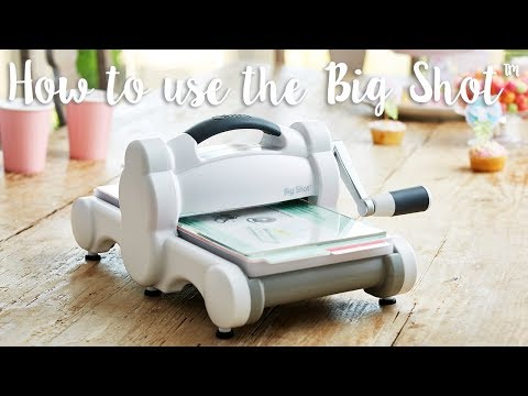 Sizzix B07RDRVGZQ Big Shot Foldaway Machine Only