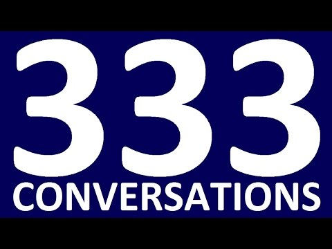333 SHORT ENGLISH CONVERSATIONS English speaking practice. E